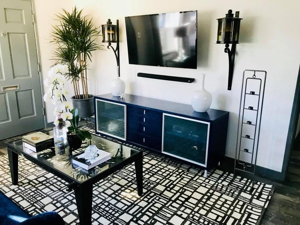 TV Wall Mount & Sound Bar