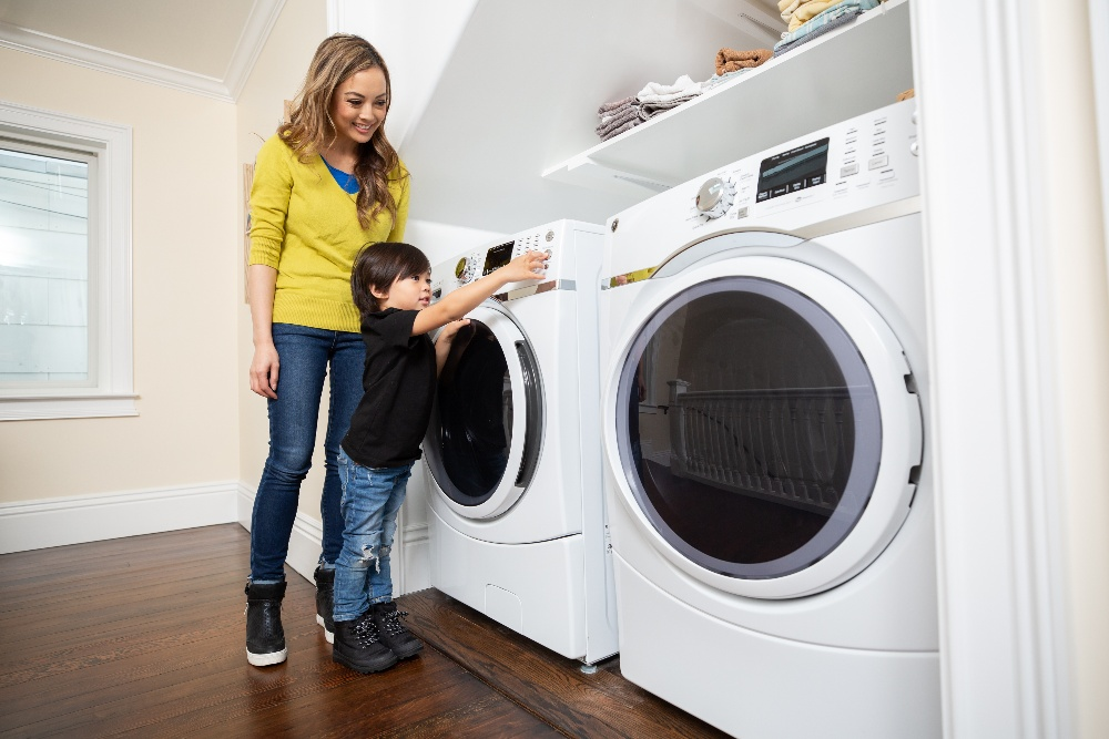 types of washing machine issues