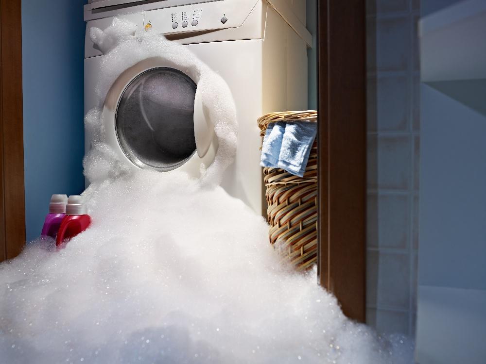 washing machine leaking