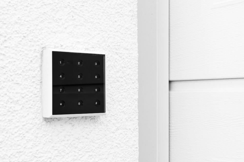 garage door opener keypad
